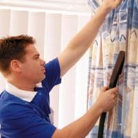 教你几种布艺窗帘的清洗方法